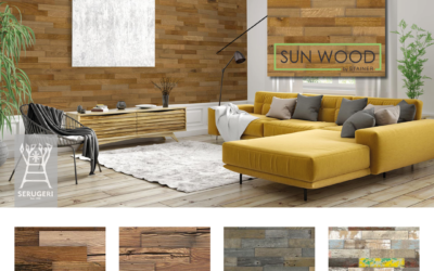 L'effetto Split Wood di Sunwood by Stainer