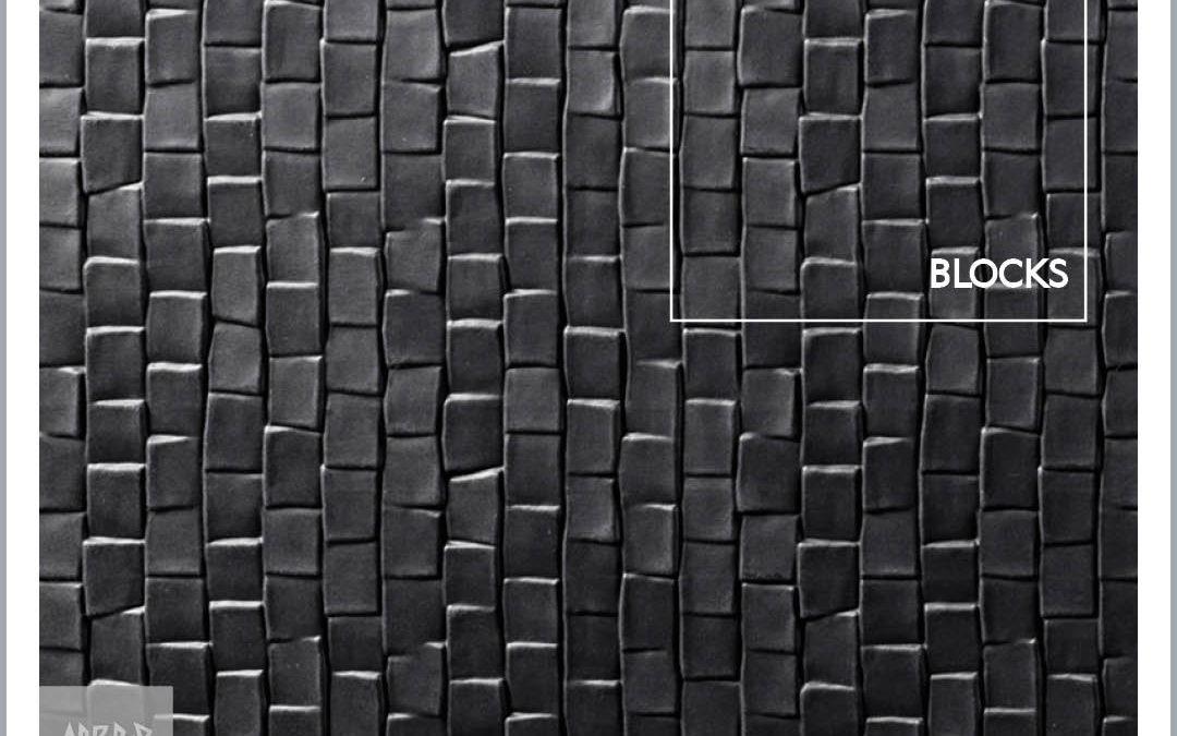 finsa fibracolour tex ez blocks mdf nero mattoncini