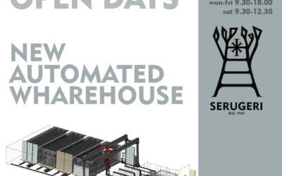Il nostro nuovo magazzino automatizzato