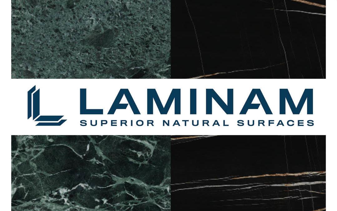 Laminam New Designs: Verde Alpi and Sahara Noir Extra